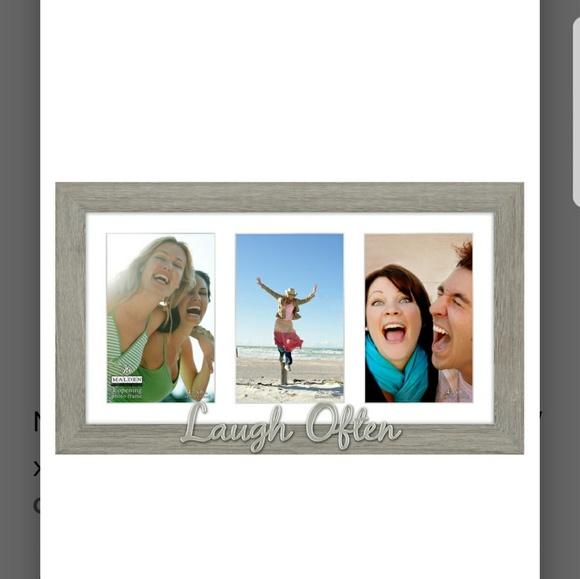 Malden 3 Opening 4x6 Collage Frame | Poshmark